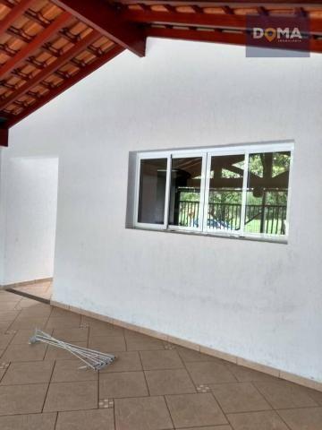 Casa com 2 dormitórios à venda, 156 m² por r$ 270.000 - parque fabrício - nova odessa/sp