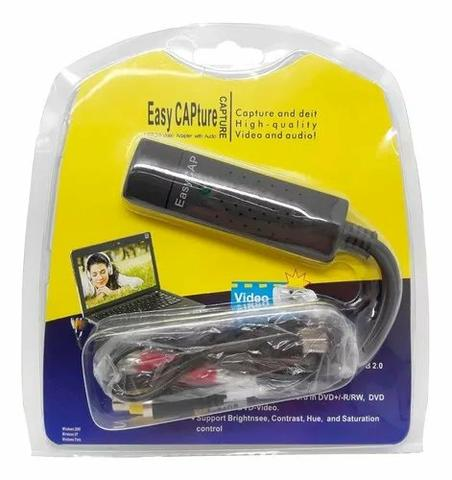 Placa De Captura Usb Easy Cap - Adaptador, Conversor, Rca - Foto 4