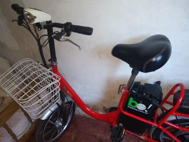 Bicicleta elétrica modelo raro - Foto 6
