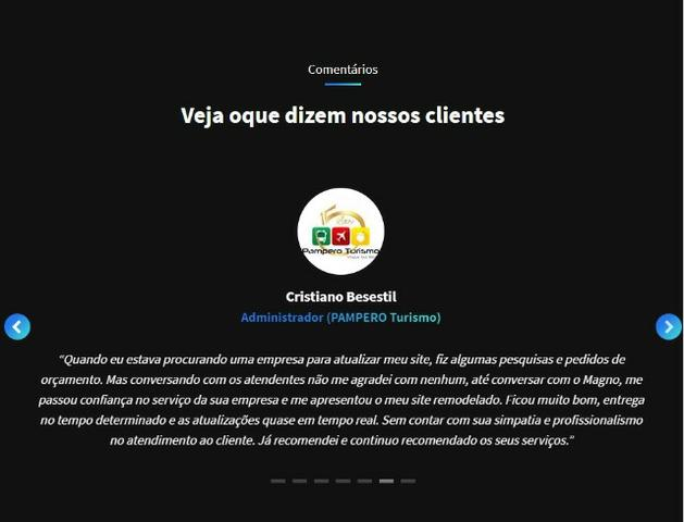 Criação de sites institucionais - Foto 4