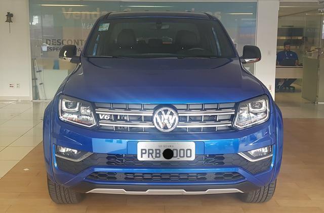 Amarok Extreme V6 2019/19 Diesel Azul - Único Dono - Placa 0 - Só Dinheiro