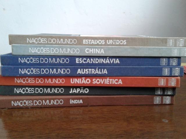 Coleção Nações do Mundo 7 títulos