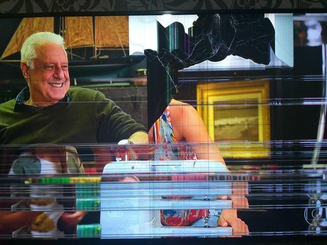 Smart Tv 55 polegadas pra retirada de peças - Foto 2