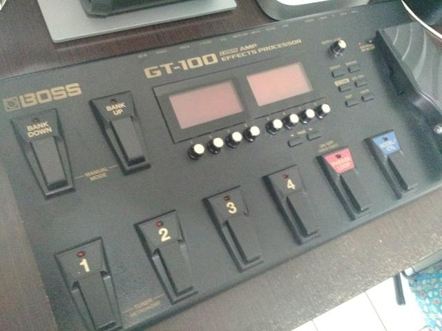 Boss GT100 Zerada! - Foto 2