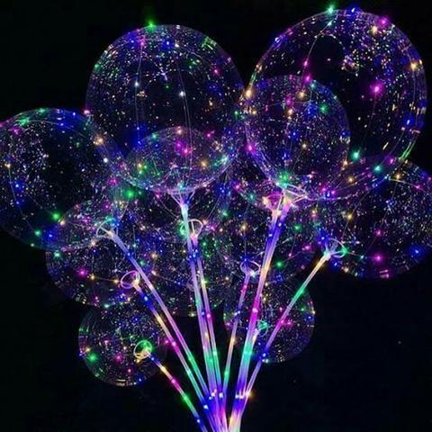 Balões de led 15,00$