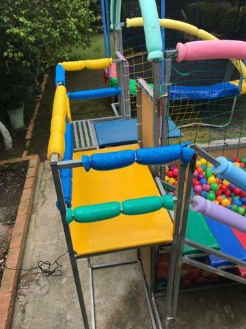 Aluguel de brinquedos,cama elástica/piscina de bolinhas - Foto 4