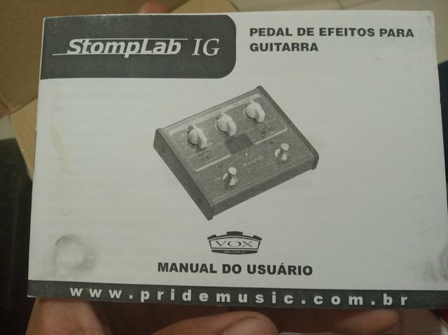 Pedaleira Vox stomplab 1g - Foto 4