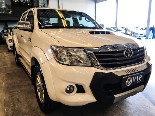 Toyota hilux - 2014/2014 3.0 srv 4x4 cd 16v turbo intercool. - Foto 3