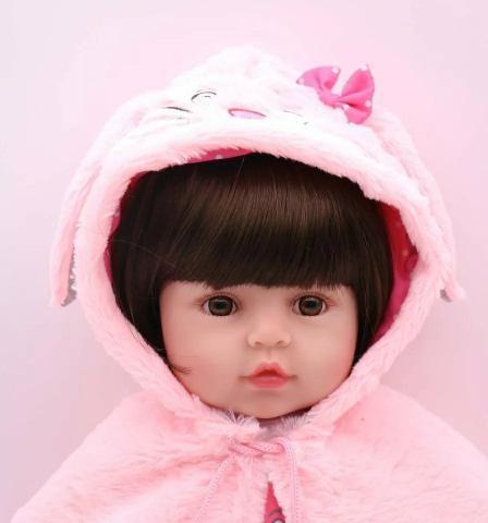 Boneca bebê reborn (ultra realista) - Foto 4