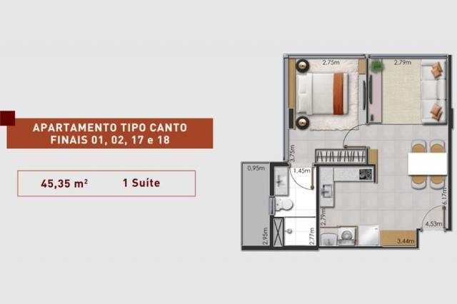 Prático e moderno - Apartamento 1 Quarto - LIV  - Foto 12