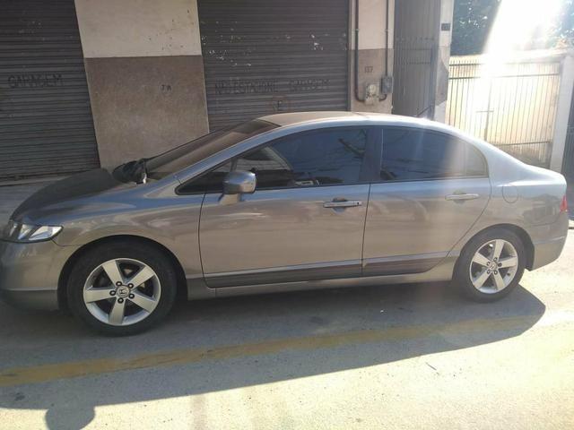 New Civic 2007 com couro e GNV - Foto 3