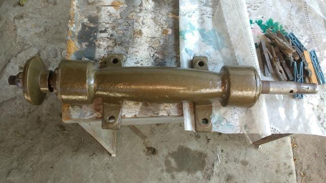 Eixo de serra circular 3/4 - Foto 2