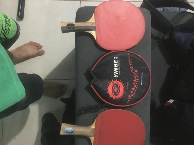 Vendo 2 raquetes em bom estado