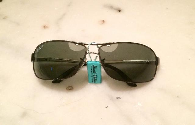 Óculos solar Ray Ban made In Italy, sem uso modelo RB3343 004 58 63 ... fb64410838