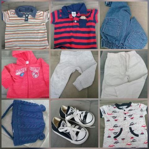 8bea1675d3 Lote de roupa menino bebê M G - Artigos infantis - Cidade Jardim ...