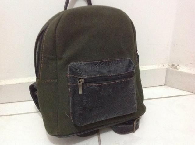 7abc55f5f Mochila Lona - Usada 2X - Bolsas, malas e mochilas - Cajuru ...