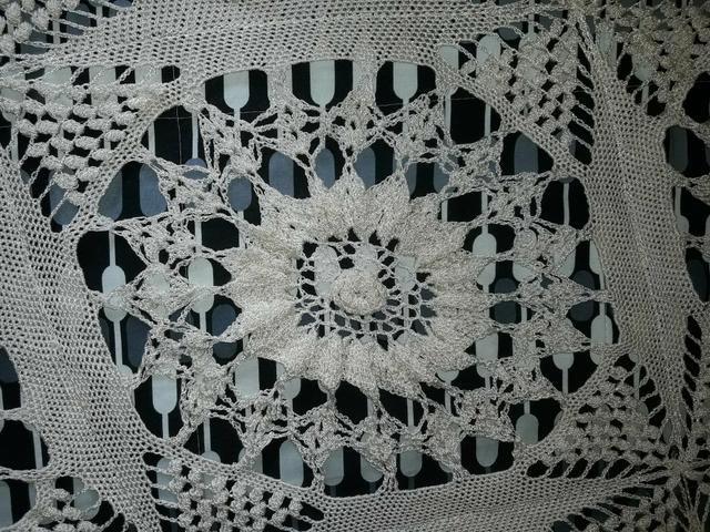 8347cfe125 Colcha crochê alto relevo casal tamanho Queen size - Objetos de ...