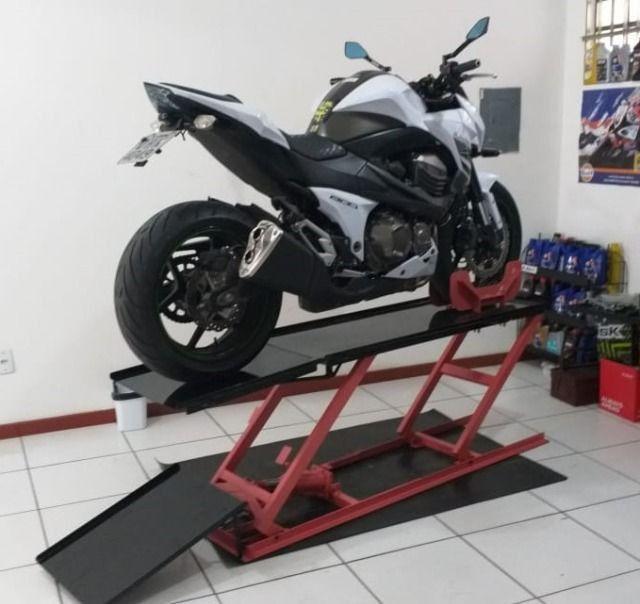 Fabrica de elevadores para motos 350 kg - fabricantes - Foto 5