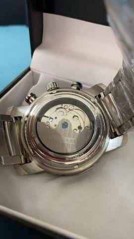 Relógio BVLGARI Híbrido Prata Automático a prova d'água - Foto 3