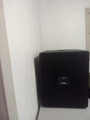 Duas caixas Sub Woofer grave, ativa e passiva Datrel - Foto 3