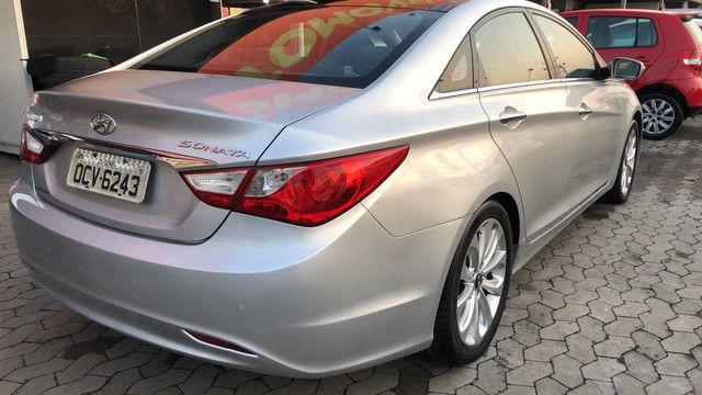 Sonata 2.4 GLS 2011 top de linha - Foto 7