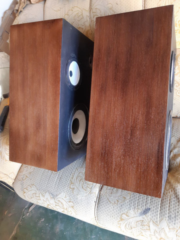 Caixas acústicas vintage gradiente