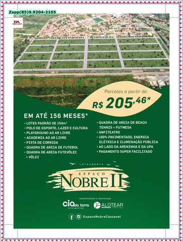 Loteamento Espaço Nobre II .!@!@ - Foto 13