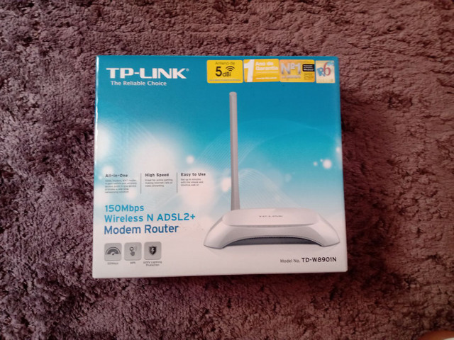 Roteador TP-Link novo na caixa
