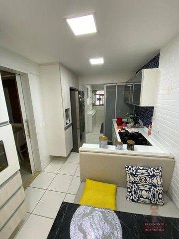Apartamento no Espaço Catalunya com 3 dormitórios à venda, 105 m² por R$ 675.000 - Varjota - Foto 4