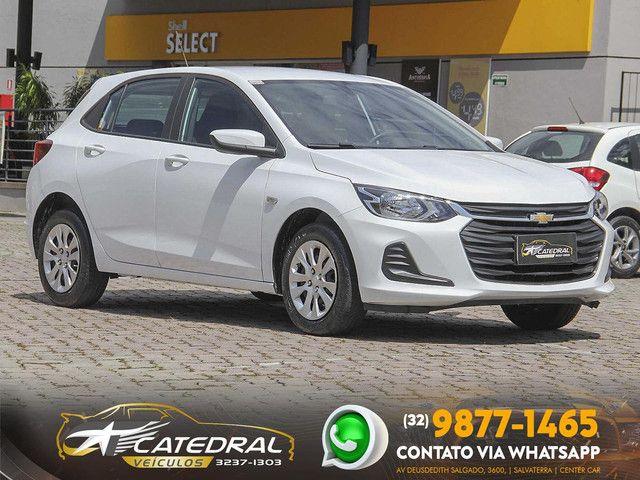 Chevrolet Onix Hatch LT 1.0 12V Flex 5p Mec. 2020 *Novo D+* Baixa Km* Aceito Troca