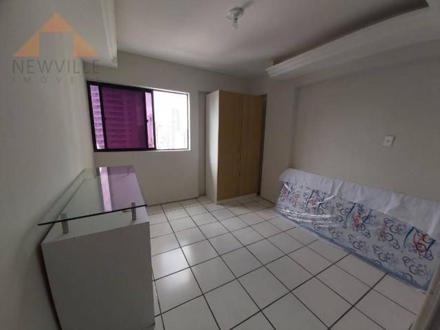 Apartamento com 1 quarto para alugar, 43 m² por R$ 1.599/mês - Boa Viagem - Recife/PE - Foto 2