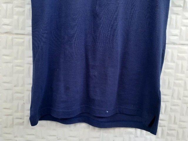 Camisetas básicas Azul e Preta - Tam P - Foto 3