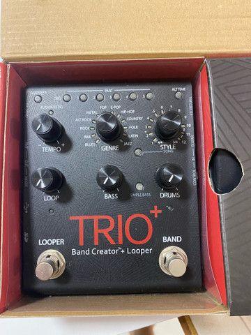 Pedal para guitarra Trio + band Creator/loop - Foto 4