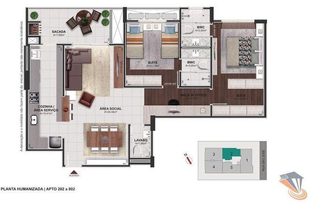 Apartamento com 2 dormitórios à venda, 91 m² por R$ 670.000,00 - Balneário - Florianópolis - Foto 19