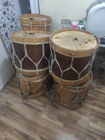 Vendo lote de Alfaia / tambor de maracatu - Foto 2