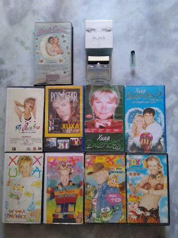 VHS E PERFUME XUXA