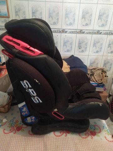 Cadeira marca Infanti modelo cockpit preta. - Foto 2
