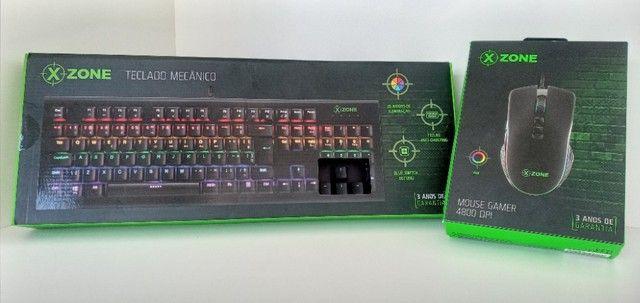 Teclado e Mouse Gamer X-Zone - Foto 4