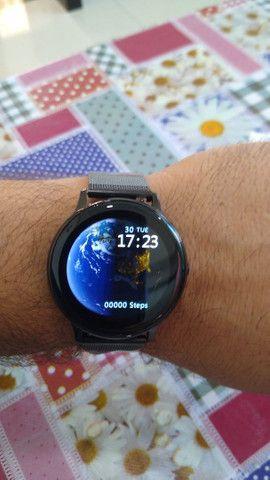 Relógio Inteligente Smartwatch Dt88 Pro Rosa Original - Foto 2