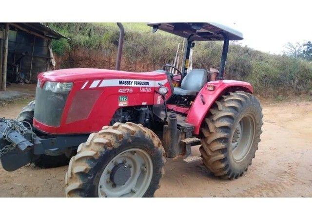 Trator Massey Ferguson 4275 4x4 2016 Cabinado