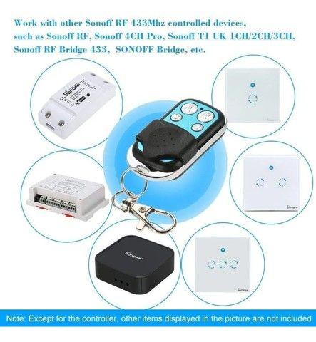 Controle Remoto Sonoff 4ch Pro Wifi 433mhz Sem Fio - Foto 6