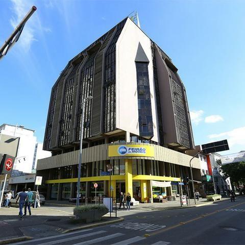 Sala comercial edifício Freitag com 92 m2 privativos