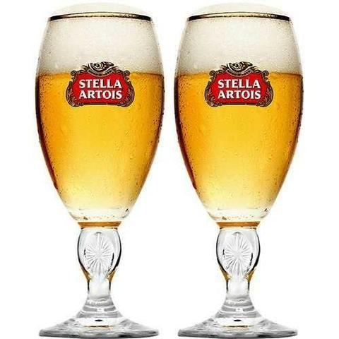 Taças Cerveja Crisal Stella Artois - 24 unid