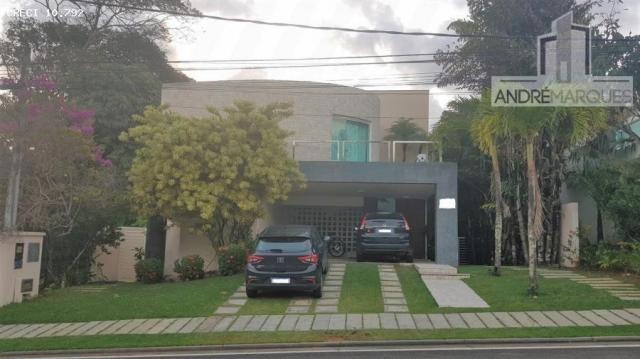 Casa em condomínio para venda em salvador, alphaville i, 4 dormitórios, 4 suítes, 2 banhei