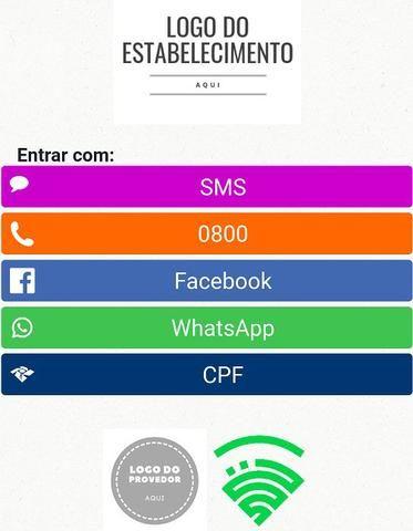 Hotspot Mikrotik login via SMS 0800 Whatsapp facebook CPF