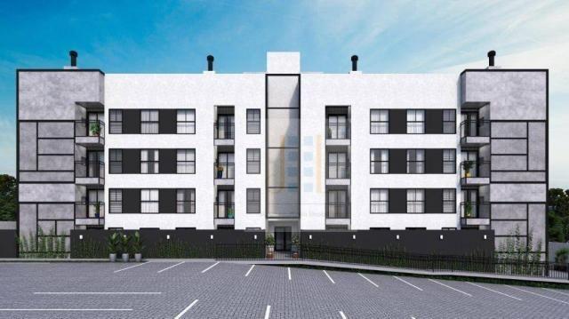 Apartamento com 2 dormitórios à venda, 93 m²- boa vista - curitiba/pr - Foto 2