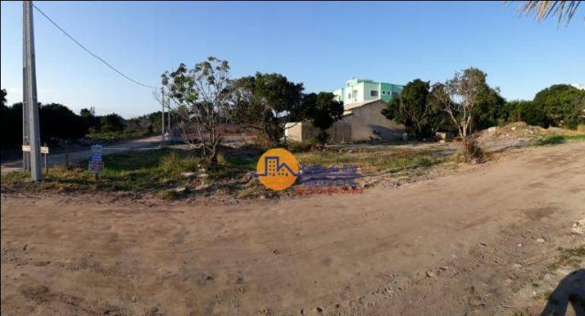 Terreno à venda, 608 m² por r$ 150.000,00 - enseada das gaivotas - rio das ostras/rj