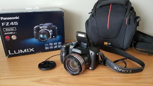Câmera Panasonic Lumix Superzoom Fz45 - Foto 4