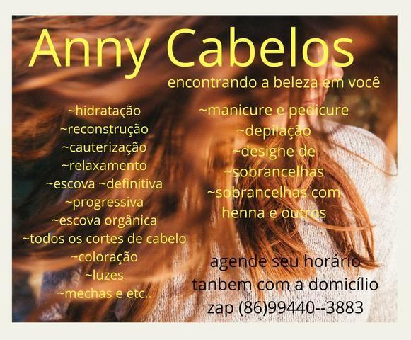 Anny cabelos (encontrando a beleza em voçê)