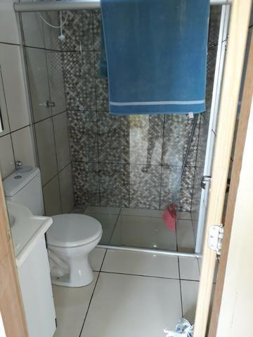 Casa nova, espaçosa com area de churrasqueira, 2quartos, 2 banheiros, lote de 400metros - Foto 14